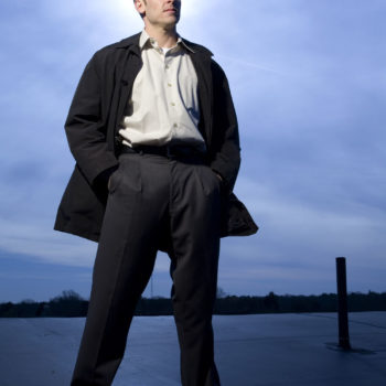 Mark Chauppetta in confident pose looking off into distance