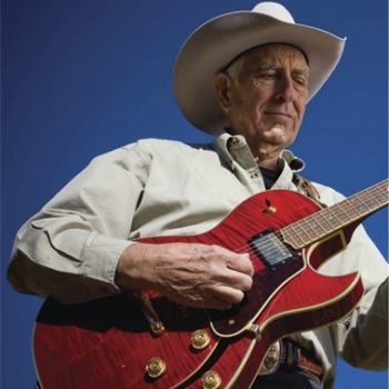 Tommy Allsup with guitar