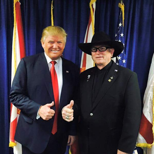 Gary O' Neal with President Donald Trump
