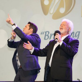 Merrill and Justin Osmond